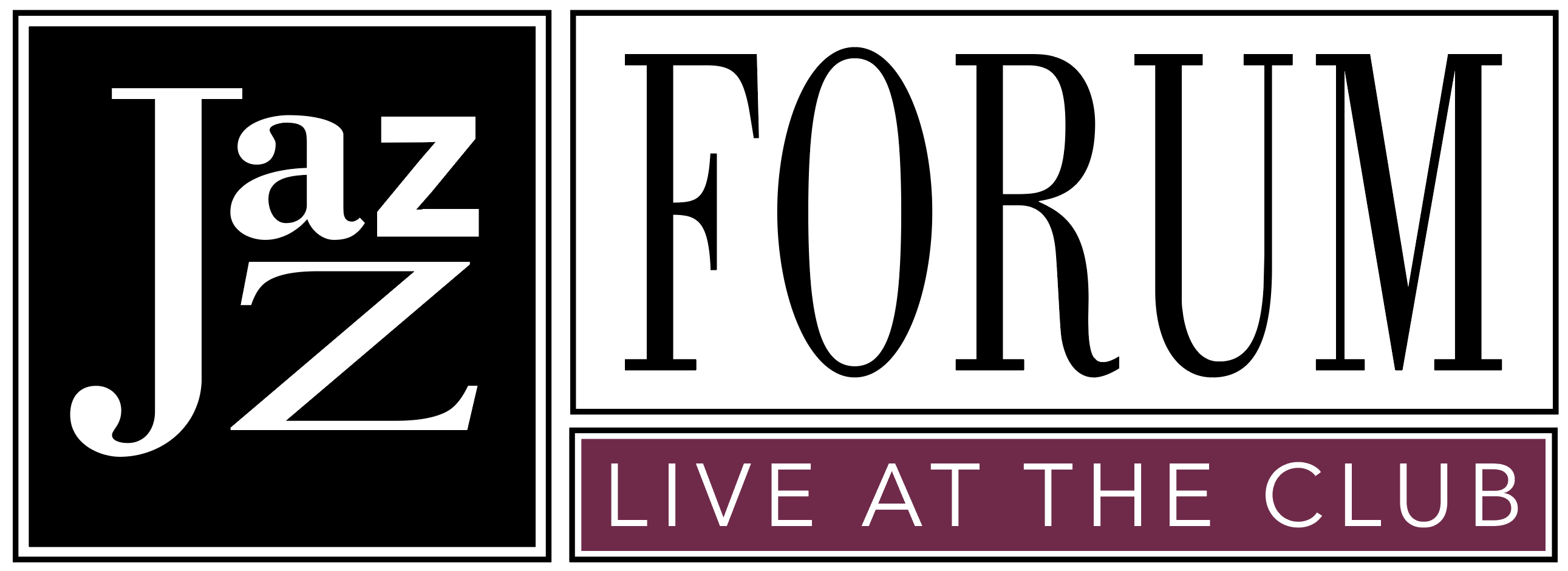 Jazz Forum, Live at the Club, blog logo