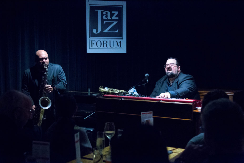 Joey DeFrancesco playing a live jazz concert at our Tarrytown jazz club