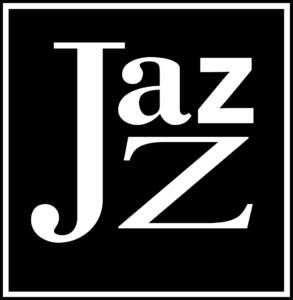 Black and white Jazz logo