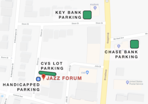 Jazz Forum - Parking map