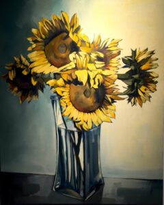 Helen Elliot - Sunflowers III