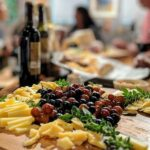 Jazz Forum - Bar with cheese and wine