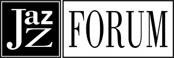 Jazz Forum black and white logo