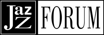 Jazz Forum black and white logo
