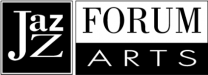 Jazz Forum Arts black and white logo